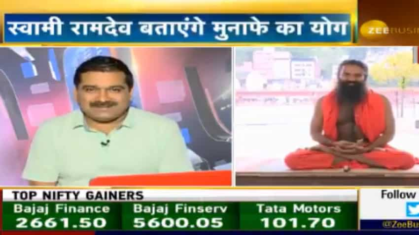 Exclusive: In talk with Anil Singhvi, Swami Ramdev says adopt yoga, become physically Aatmanirbhar