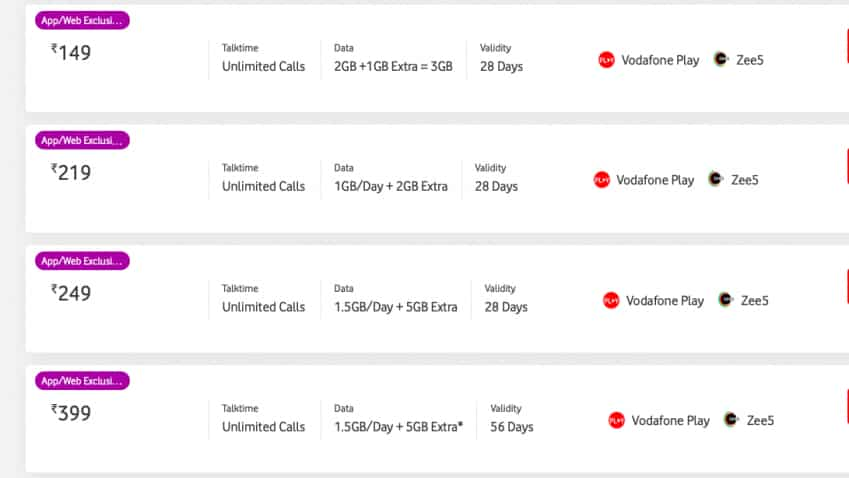 Free 5GB data! Vodafone Idea offers extra mobile data on these plans