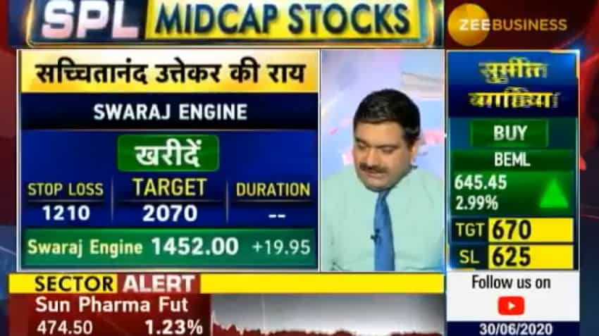 Mid-cap Picks with Anil Singhvi: Analyst Sacchitanand Uttekar picks stocks with long, medium, short-term view for top returns