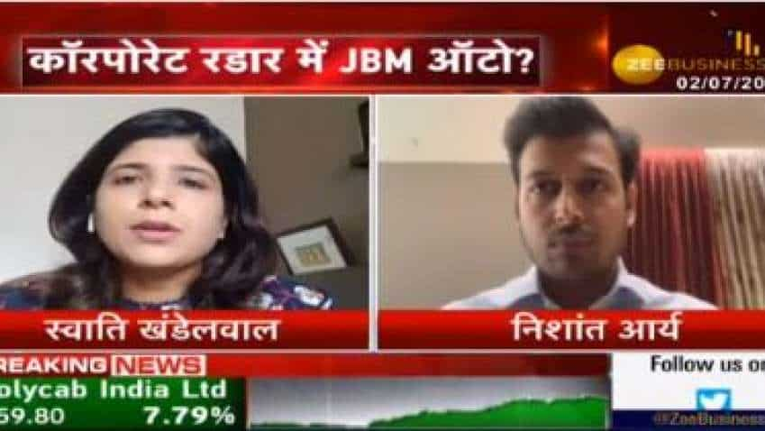 JBM Auto has got an order of 500 buses; it will be delivered this year: Nishant Arya, ED