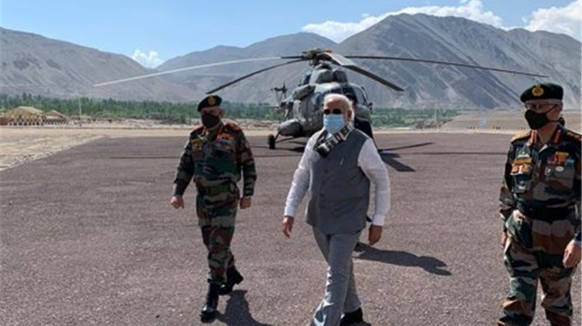 PM Narendra Modi to soldiers in Ladakh: Age of expansionism is over, this is the age of development