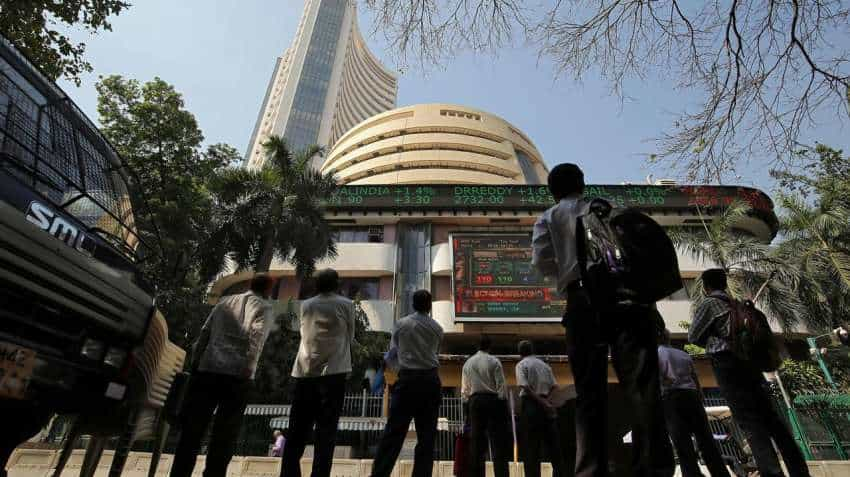 Stock Markets Today: BSE Sensex, NSE Nifty open almost flat; Mahindra, SBI shares gain