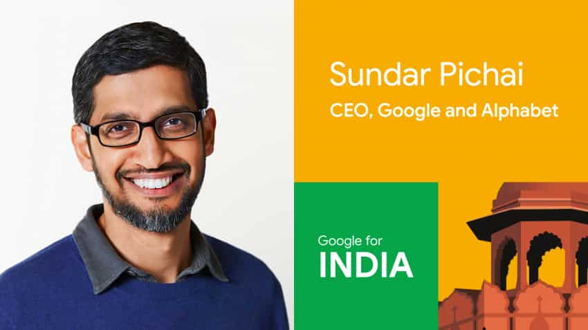 Google to invest Rs 75,000 cr in India; Sundar Pichai says looking forward to working with PM Narendra Modi