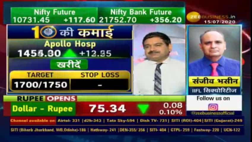 Stocks to Buy: In chat with Anil Singhvi today, Sanjiv Bhasin picks 3 money-making shares  - Apollo Tyres, ICICI Prudential and Canara Bank