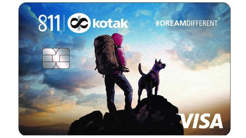 No joining or annual fee, lifetime free and no income proof required! Kotak Mahindra Bank launches 811 #DreamDifferent Credit Card