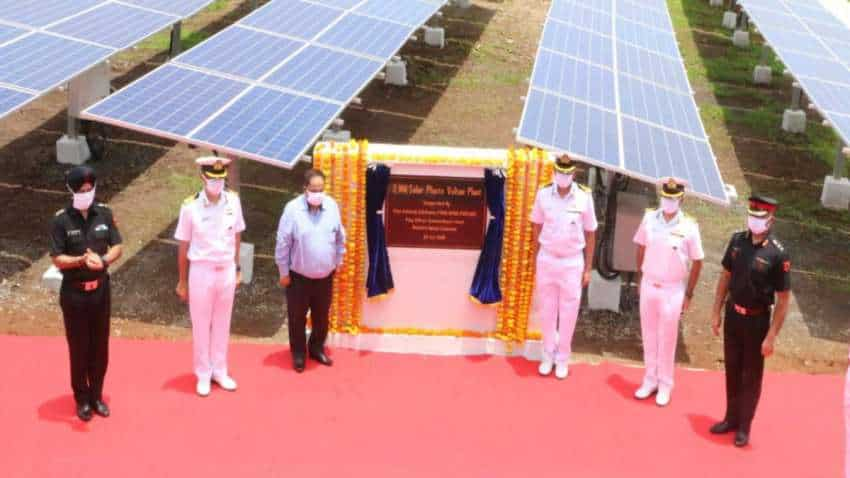 Largest solar power plant of Indian Navy commissioned in Kerala