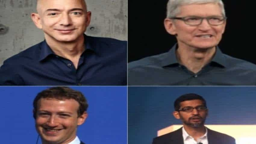 US panel to now grill Bezos, Cook, Zuckerberg, Pichai on July 29