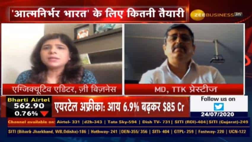 TTK Prestige will discontinue import of finished goods by September 30: Chandru Kalro, MD