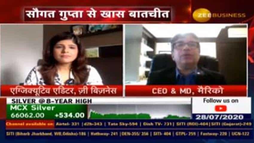 Marico has gained market share on 90% plus portfolio: Saugata Gupta, MD & CEO