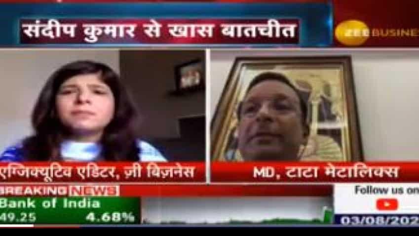 Tata Metaliks is getting better than previous months: Sandeep Kumar, MD