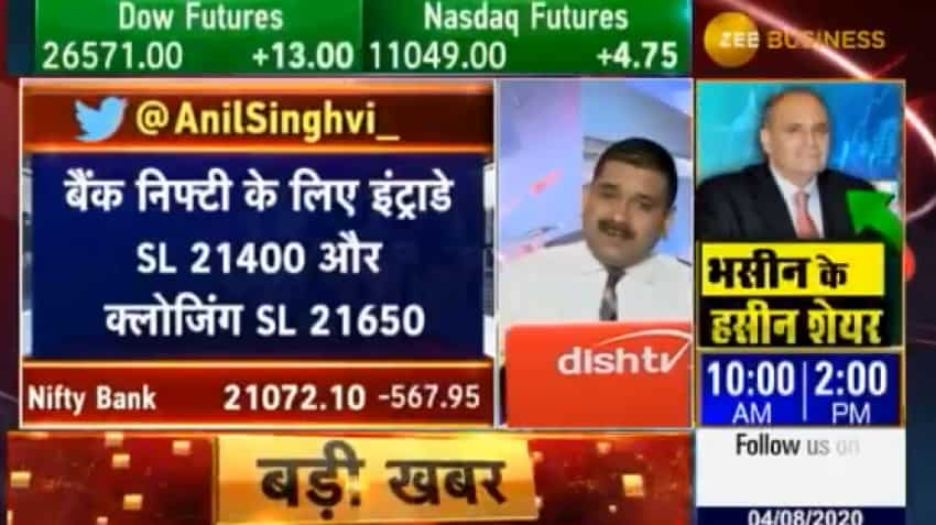 Money-Making Lesson from Market Guru: Anil Singhvi tells you how to find a stop-loss