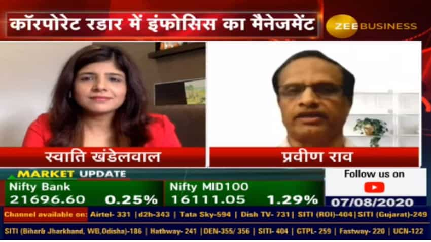 Infosys expects its margin guidance for FY21 to be in the range of 21-23% for FY21; It is bullish on digital revenue growth: UB Pravin Rao, COO
