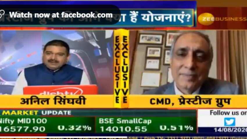 Profits expected to grow in next few quarters, Prestige Group CMD Irfan Razack tells Anil Singhvi