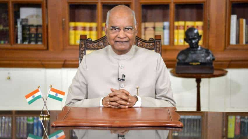 India believes in peace but also capable of giving befitting response to any attempt of aggression, says President in veiled message to China