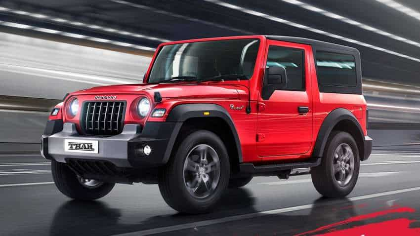 Mahindra unveils all new Thar, launch on October 2