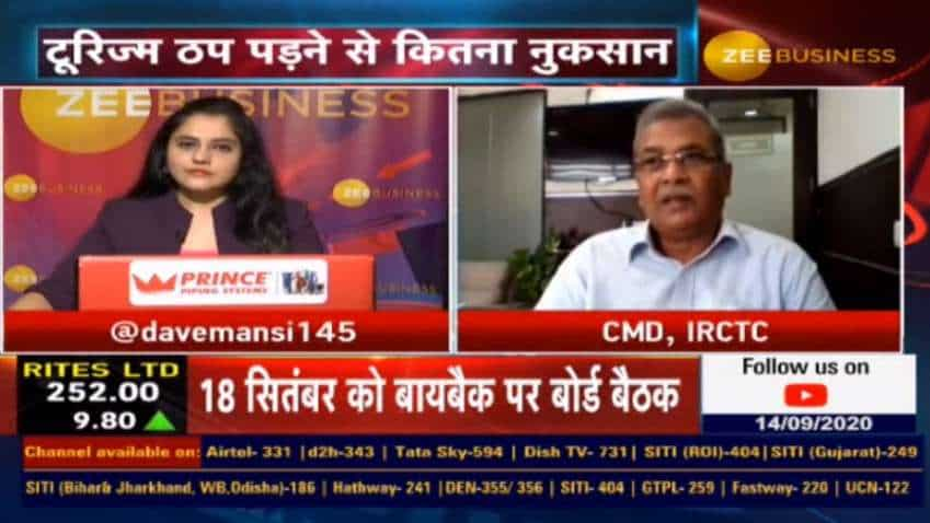 Catering & drinking water business will improve with the addition of trains: Mahendra Pratap Mall, CMD, IRCTC