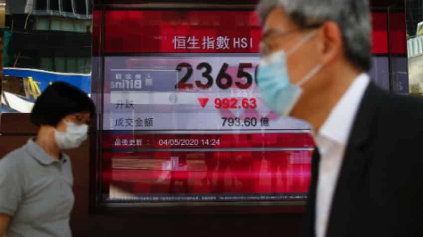 Global Markets: Asian shares set to dip as investors await key data