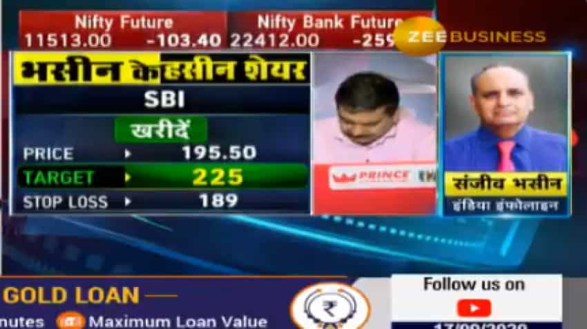 Stocks To Buy With Anil Singhvi: SBI share is Sanjiv Bhasin's top bet; know why it will be a money-spinner