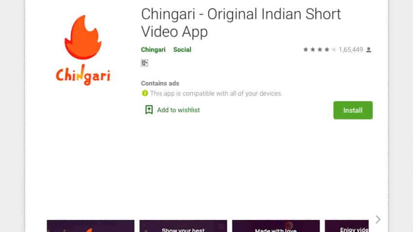 TikTok rival Chingari claims 30 million downloads in 3 months