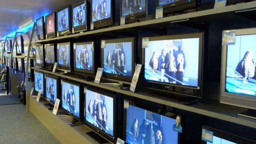 Television sets to get expensive from October 1 with 5 per cent customs duty on import of open cell