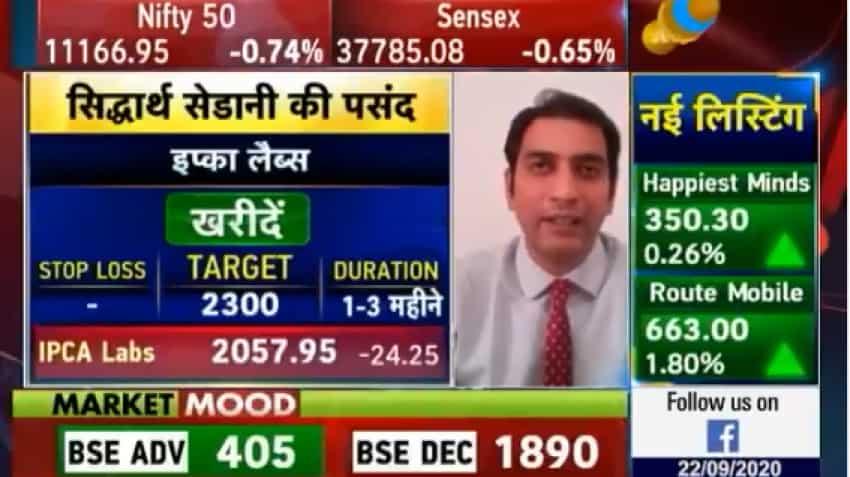 Mid-cap Picks with Anil Singhvi: Buy IPCA Lab, Aarti, CDSL for high returns, says Siddharth Sedani