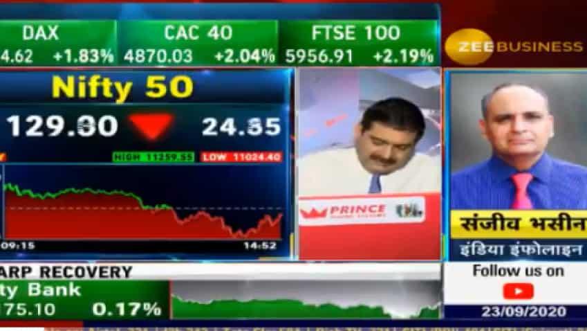 Stocks To Buy With Anil Singhvi: Sanjiv Bhasin's top pick is GAIL