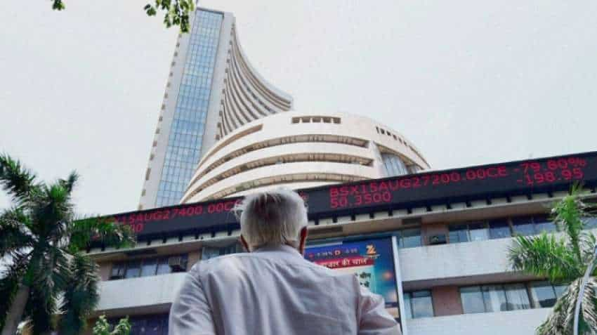 Bloodbath at Dalal Street! Sensex tanks 1,114 points, Nifty at 10,805; TCS, Tata Steel shares bleed
