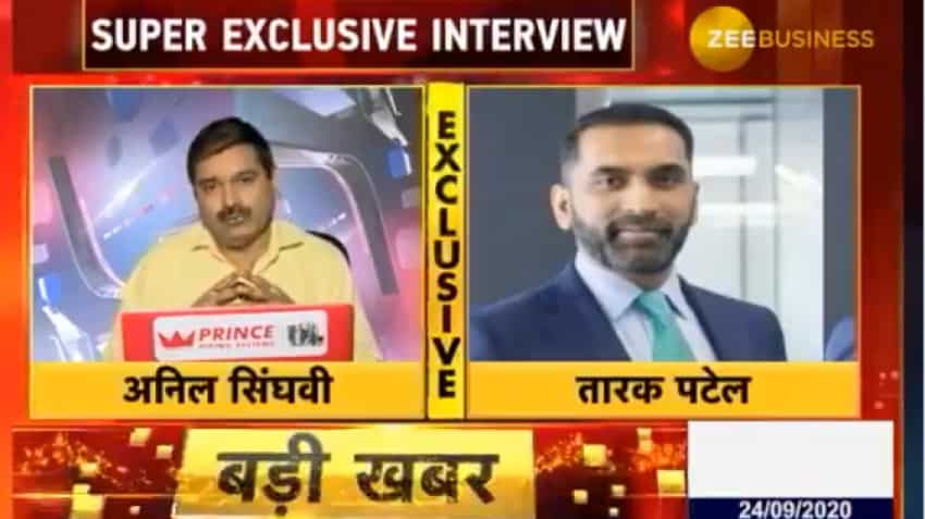 Super-Exclusive: What GMM Pfaudler MD Tarak Patel told Anil Singhvi today