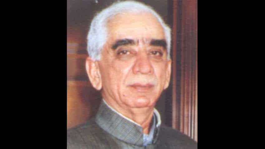 Former Defence Minister Jaswant Singh passes away; PM Narendra Modi, others pay rich tributes