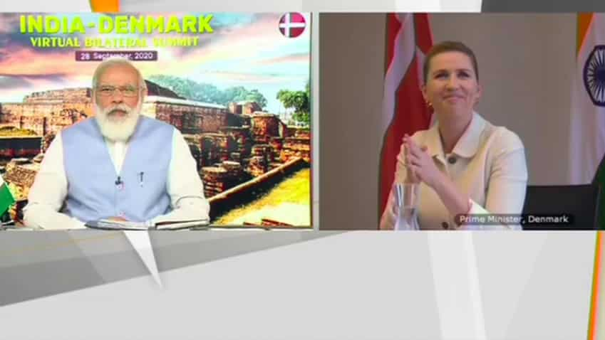 PM Narendra Modi holds talks with Denmark PM Mette Frederiksen, says important to have like-minded nations
