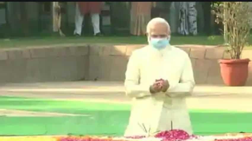 PM Narendra Modi pays tribute to Lal Bahadur Shastri