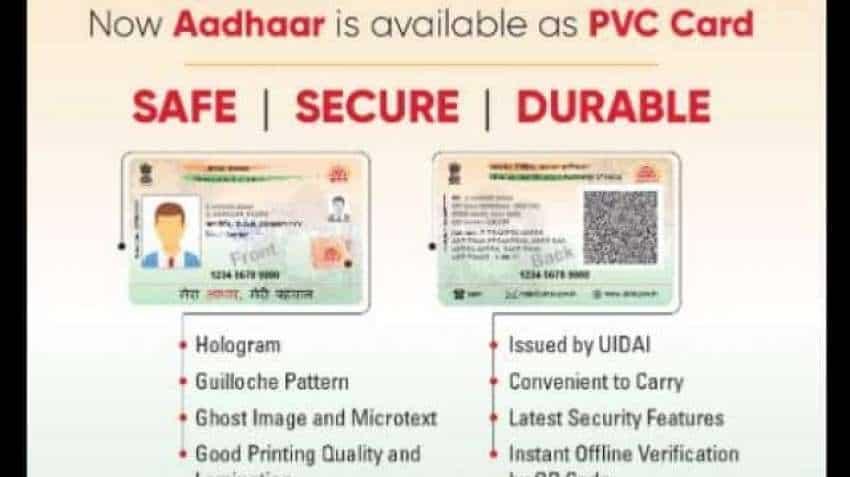 explained new aadhaar pvc card from uidai  security