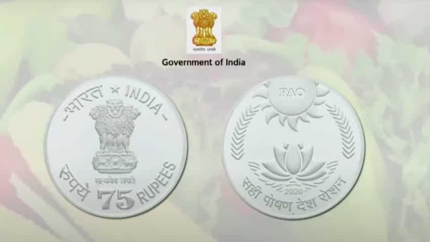 PM Narendra Modi releases Rs 75 coin on 7th anniversary of FAO