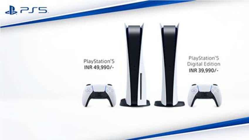 Sony PlayStation 5 to cost Rs 49,990 in India, digital edition priced at Rs 39,990