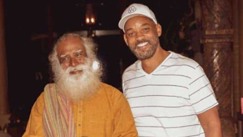IN PICS: Jab They Met! Hollywood superstar Will Smith, his family spend quality time with top spiritual leader Sadhguru