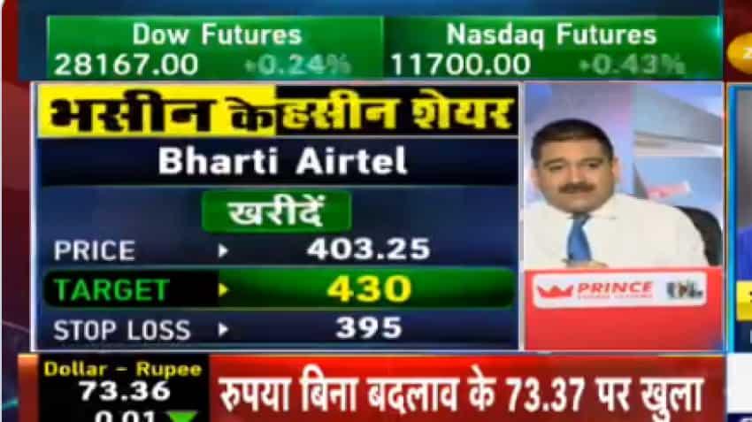 Stocks To Buy With Anil Singhvi: Sanjiv Bhasin recommends buy on DLF, Bharti Airtel; sell on Bajaj Auto