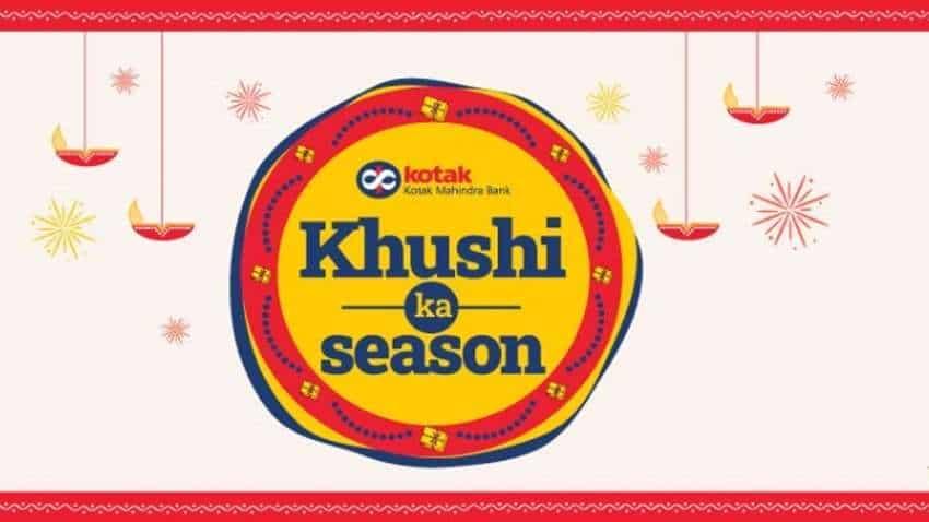 Khushi Ka Season is here! Kotak Mahindra launches attractive loan rates, processing fee waivers and more