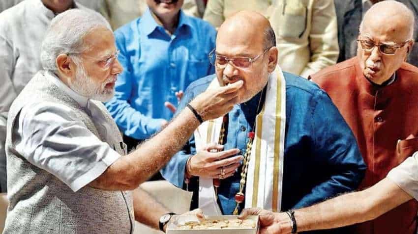PM Narendra Modi wishes Amit Shah on his 56th birthday