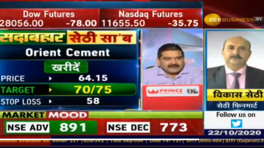 In chat with Anil Singhvi, analyst Vikas Sethi picks Orient Cement, LIC Housing as top buys