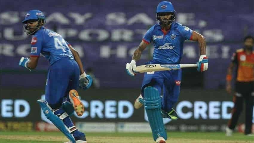 Cricket-Delhi Capitals vs Sunrisers Hyderabad: Wriddhiman Saha, David Warner send bowlers on leather hunt in IPL 2020 tie