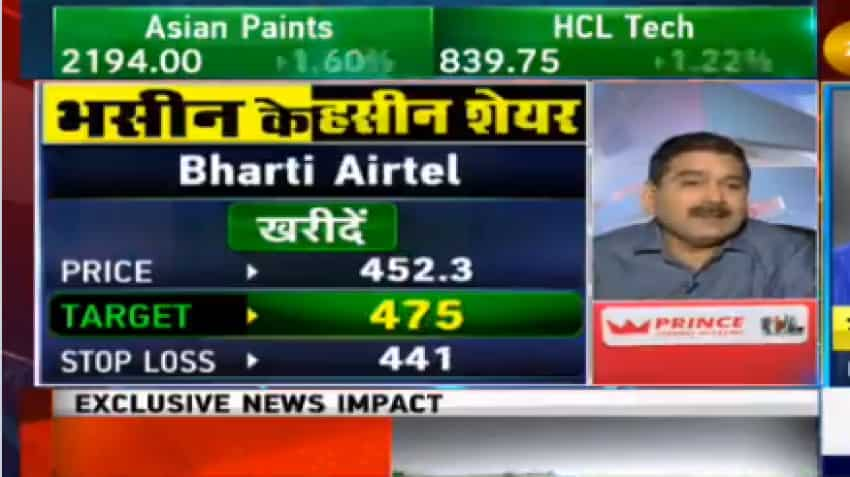 Stocks To Buy With Anil Singhvi: Know why Sanjiv Bhasin's top pick are Bharti Airtel, BPCL, UPL