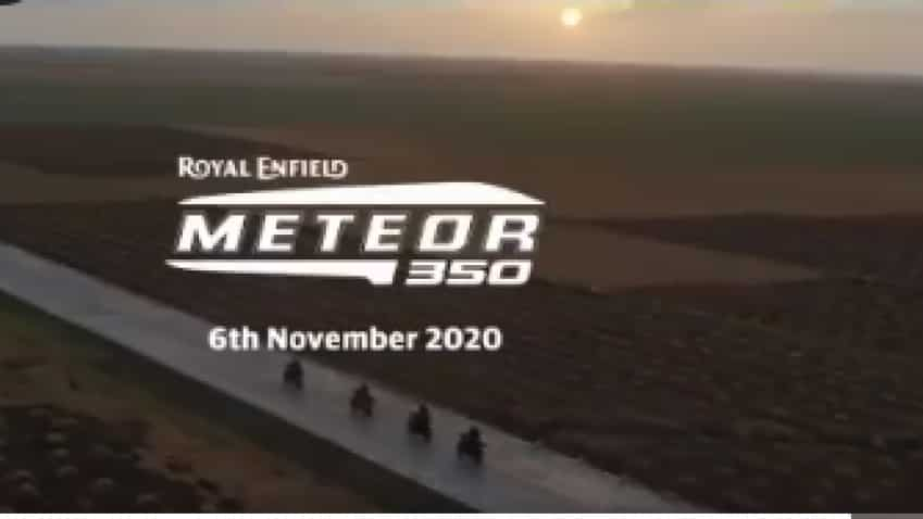 Royal Enfield Meteor 350 teaser released! Bike set for November 6 launch; check approximate price