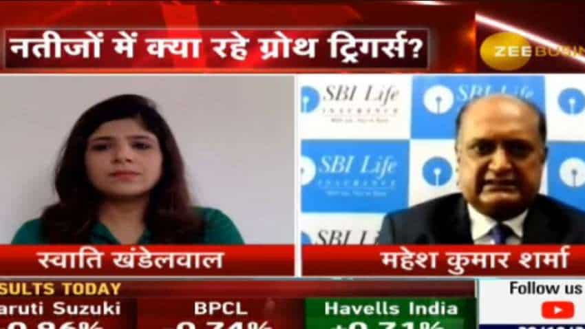 SBI Life Insurance has received less than 1,000 corona related claims till date: Mahesh Kumar Sharma, MD &CEO