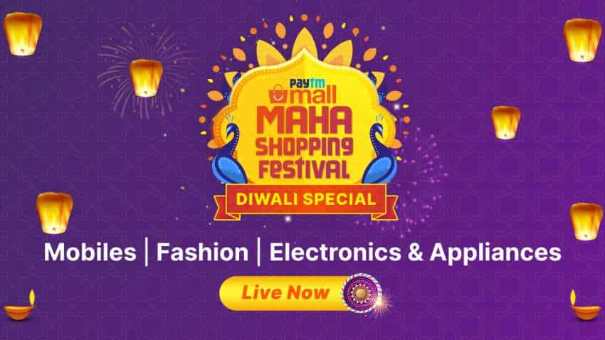 Paytm Mall announces Diwali Special Maha Shopping Festival sale from November 3: Here are all offers