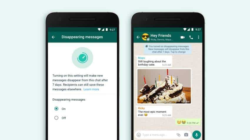 WhatsApp trick: How to turn disappearing messages on or off on Android smartphones