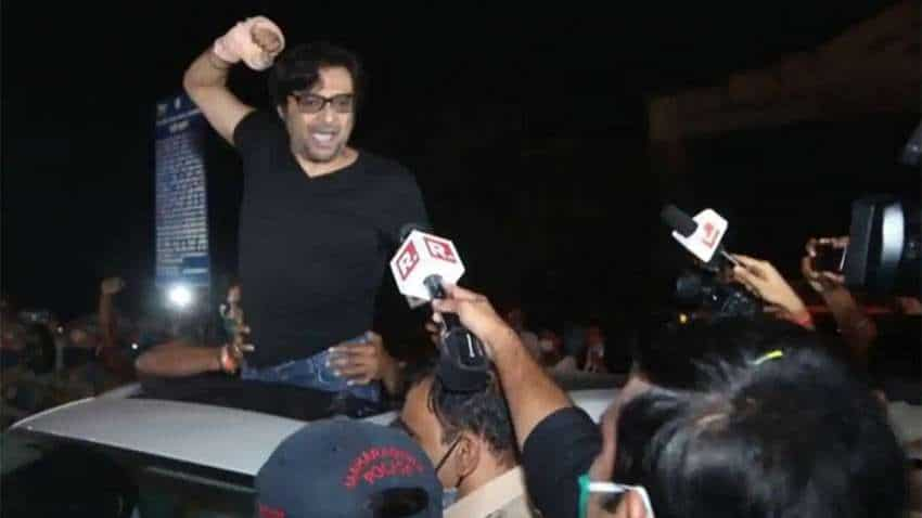 Arnab Goswami released from jail, returns to Republic TV office