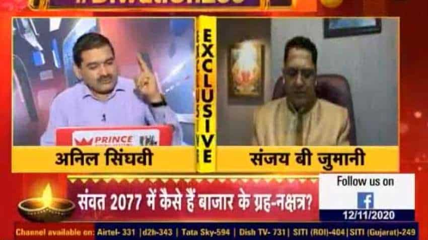 In Samvat 2077, how will bazaar perform - what do numbers say? Astro numerologist Sanjay Jumani in chat with Anil Singhvi
