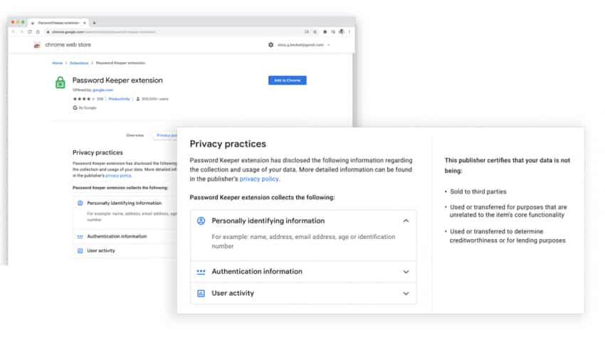 Relief for netizens! Google Chrome extension developers to now show what data they collected from users