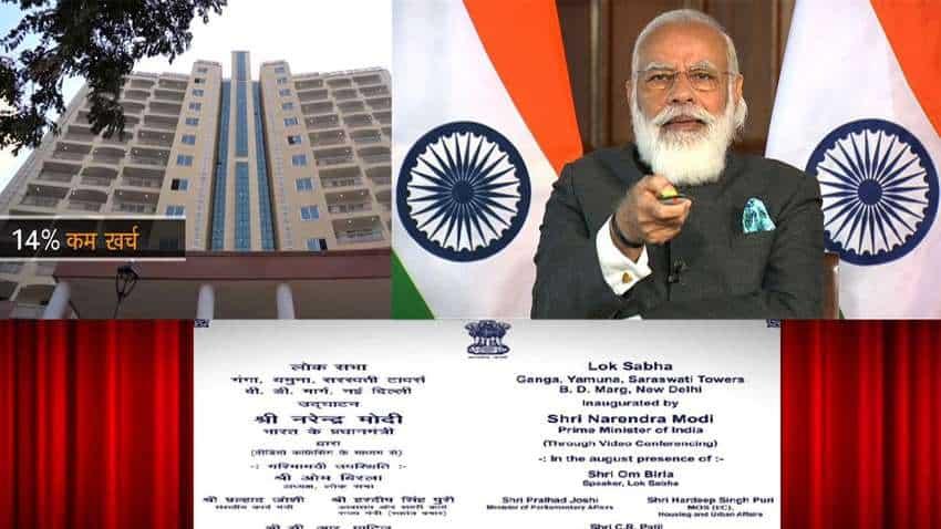Historical decision! PM Narendra Modi inaugurates Multi-Storeyed flats for Members of Parliament