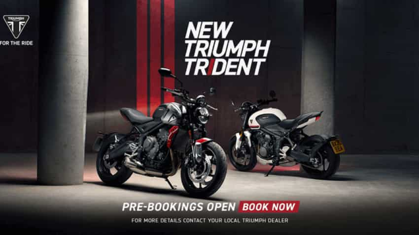 Triumph Motorcycles opens booking for Trident 660; See price, finance scheme on this roadster
